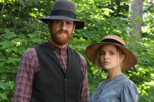 Vincent Leclerc (Séraphin) et Sarah-Jeanne Labrosse (Donalda) dans... (Photo Bertrand Calmeau, fournie par Radio-Canada)
