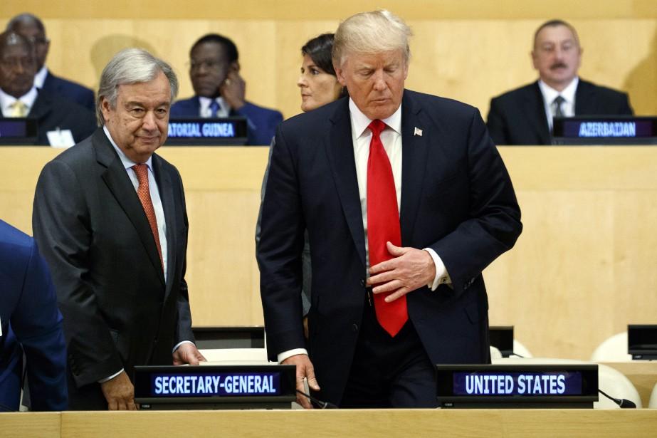 «Au cours des dernières années, les Nations unies... (AP)