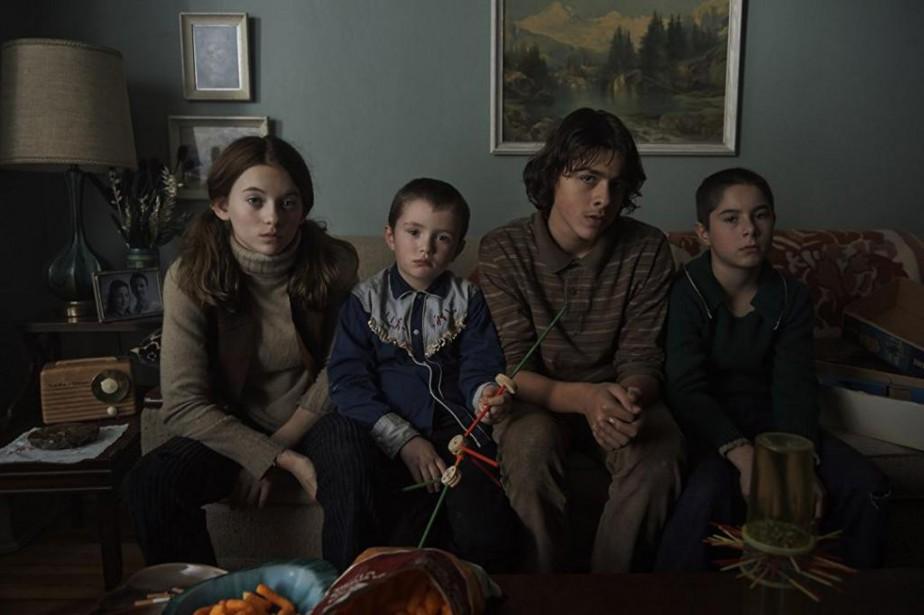 Les quatre jeunes comédiens (Milya Corbeil-Gauvreau, Anthony Bouchard,... (Image fournie parTéléfiction Distribution.)