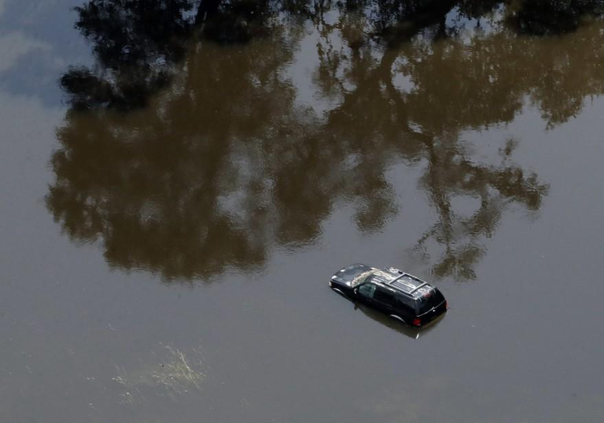 Au Texas, les assureurs ont déjà reçu 100 000 réclamations automobiles. (AP)