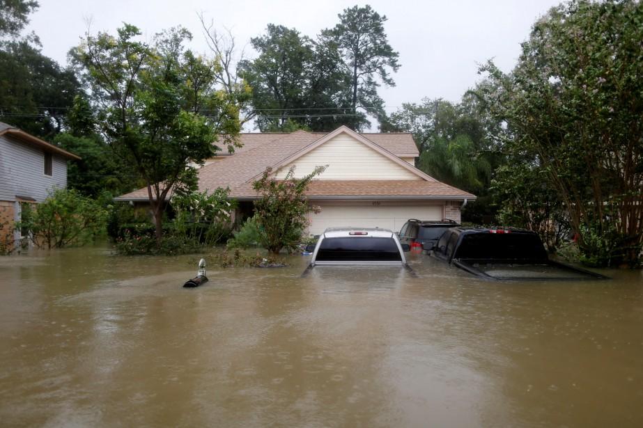 Les assureurs s'attendent à recevoir un demi-million de réclamations automobiles dans la région de Houston, affirme l'Insurance Council of Texas. Photo: AP (REUTERS)
