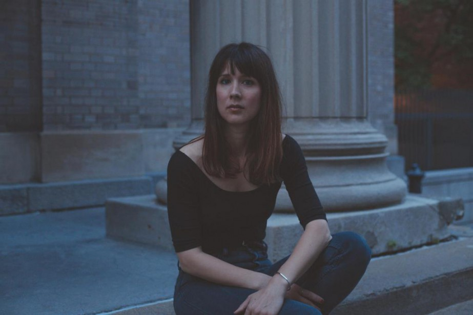L'auteure-compositrice-interprète Maude Audet fera paraître le 29septembre son... (PhotoMarc-Étienne Mongrain, fournie par Grosse Boîte)