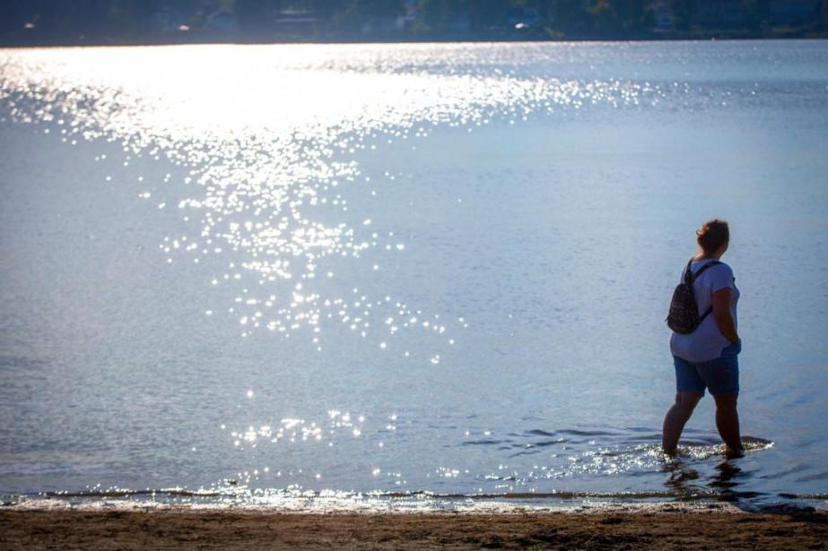La température des derniers jours dépasse souvent de... (PHOTO OLIVIER JEAN, LA PRESSE)