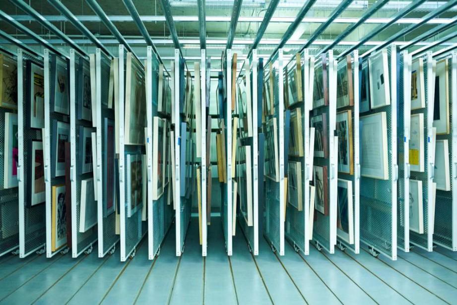 Vue des voûtes actuelles du MAC qui servira... (PHOTO MATHIEU, FOURNIE PAR AGENCE BRUT)