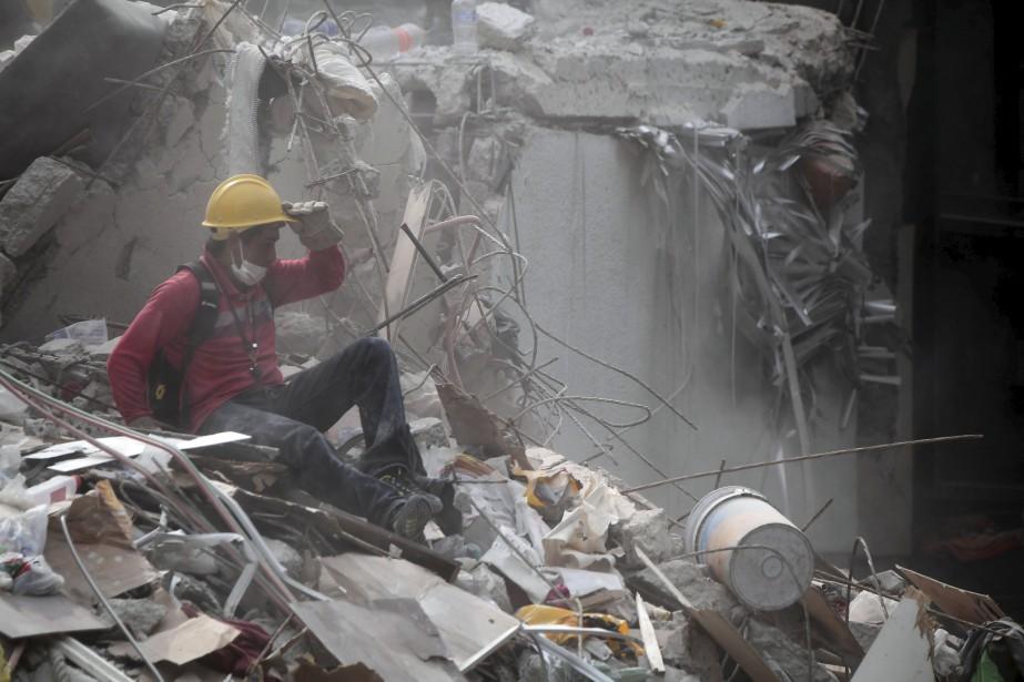 Le séisme de magnitude 7,1 qui a frappé... (photo archives AFP, Ronaldo Schemidt)