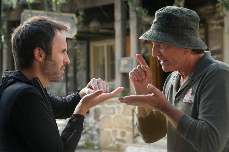 Mettant en vedette Louis-José Houde et Michel Côté,... (PHOTO FOURNIE PAR LES FILMS SÉVILLE)