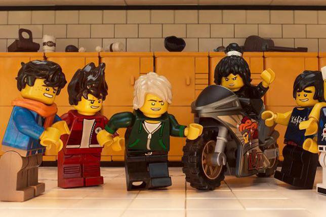 Jay, Kai, Lloyd, Nya, Cole et Zane... (Image fournie par Warner Bros.)