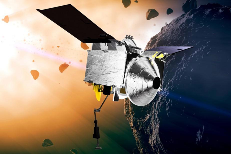 La sonde Osiris-Rex s'approchera à 17 000 kilomètres... (PHOTO AP)