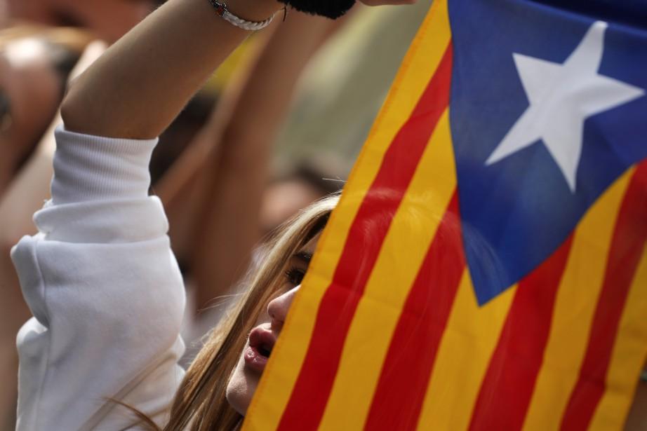 Les participants dénonçent le gouvernement espagnol qui, selon... (Photo Susana Vera, archives REUTERS)