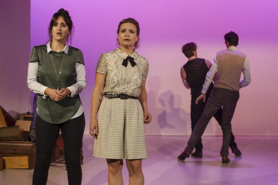La pièce Les enfants d'Adam est présentée auStudio... (Photo Marie-Claude Hamel, fournie par leThéâtre de L'Opsis)