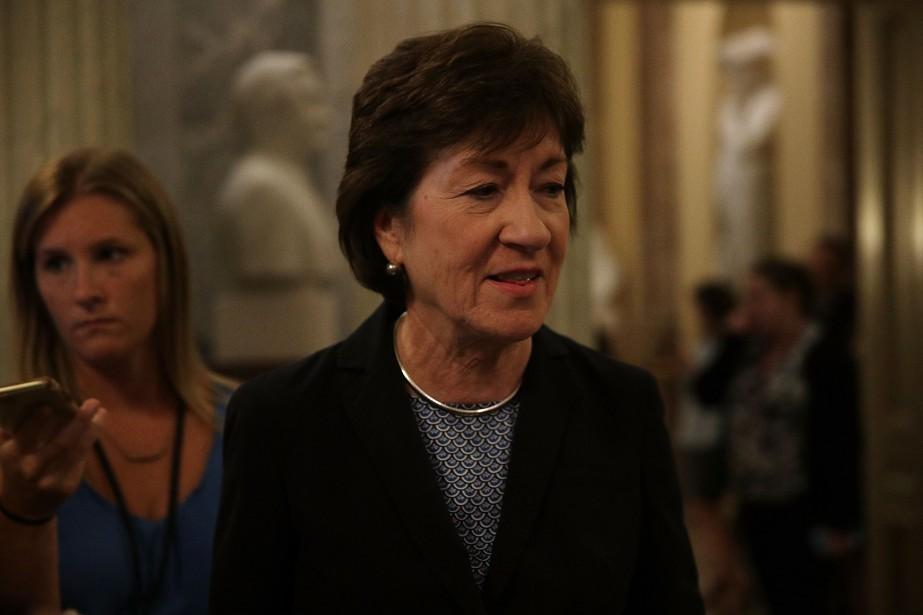 La sénatrice du MaineSusan Collins a répété dimanche... (Photo AFP)