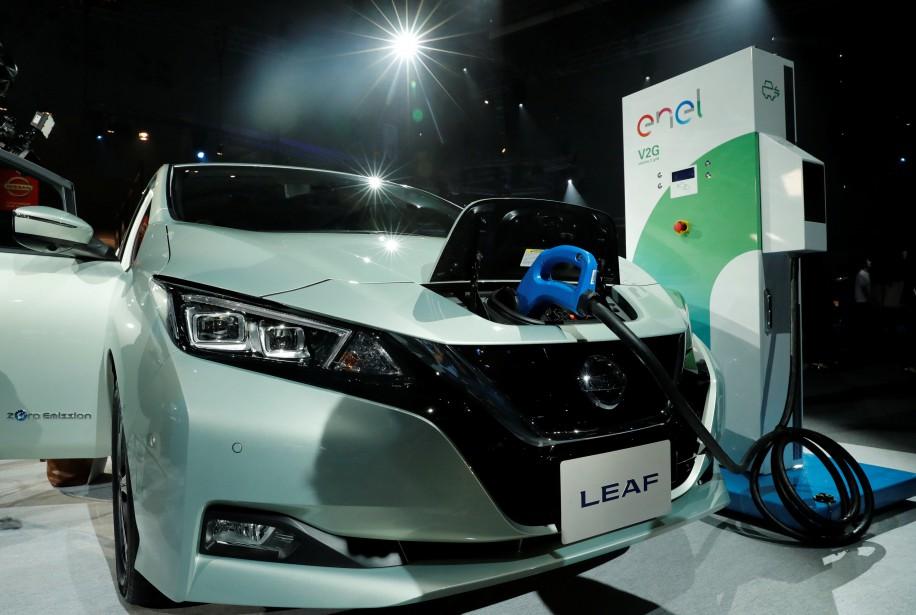 Nissan et Renault affirment que 30 % de leurs modèles seront électriques d'ici 2022. (REUTERS)