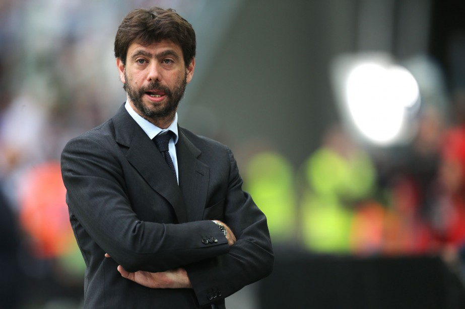 Le président de la Juventus de Turin, Andrea... (Photo Marco Bertorello, archives AFP)