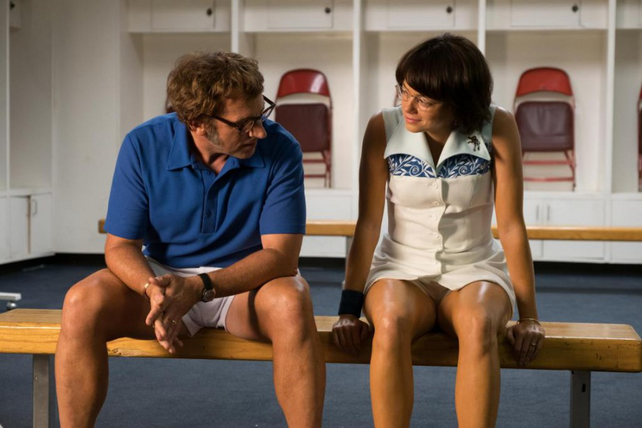 Emma Stone et Steve Carell dans Battle of... (Photo fournie par Fox Searchlight)