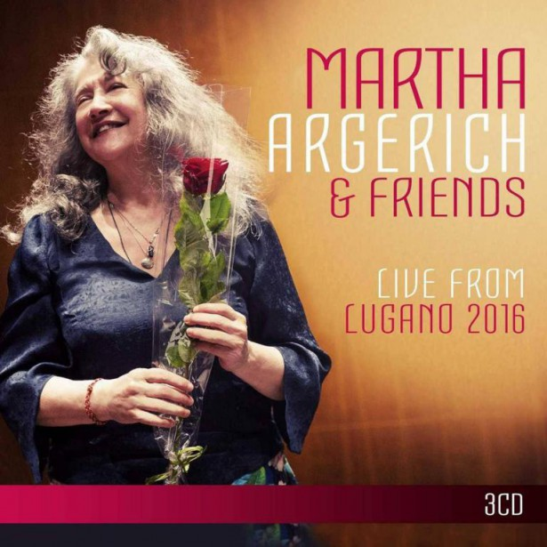Live from Lugano 2016, de Martha Argerich&Friends... (IMAGE FOURNIE PAR WARNER CLASSICS)