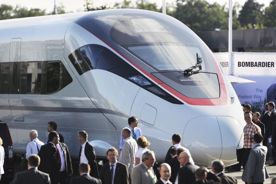 La possibilité d'un rapprochement entre Bombardier Transport et... (AFP)