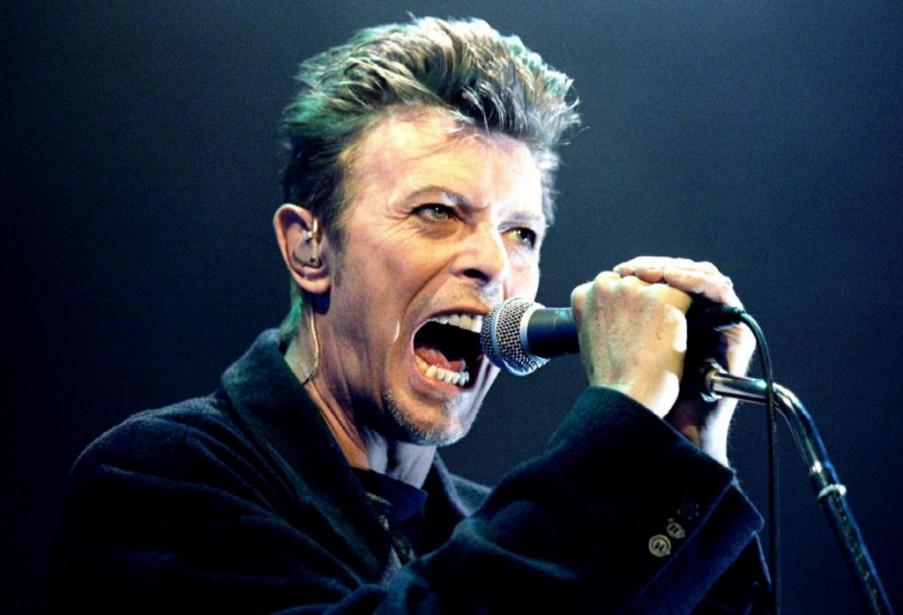 David Bowie en concert à Vienne en 1996... (PHOTO LEONHARD FOEGER, ARCHIVES REUTERS)
