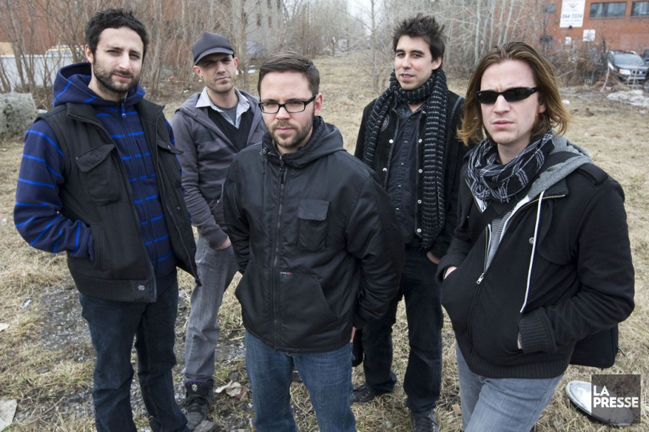 Le groupe Karkwa en 2010.... (PHOTO ROBERT SKINNER, ARCHIVES LA PRESSE)