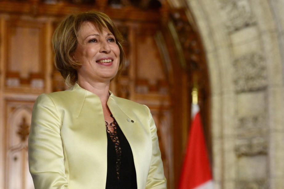 Mona Nemerfera rapport à Justin Trudeau et à... (Photo Sean Kilpatrick, PC)