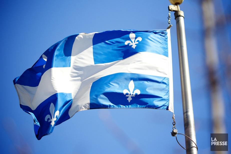Le drapeau du Québec... (Photo archives La Presse)