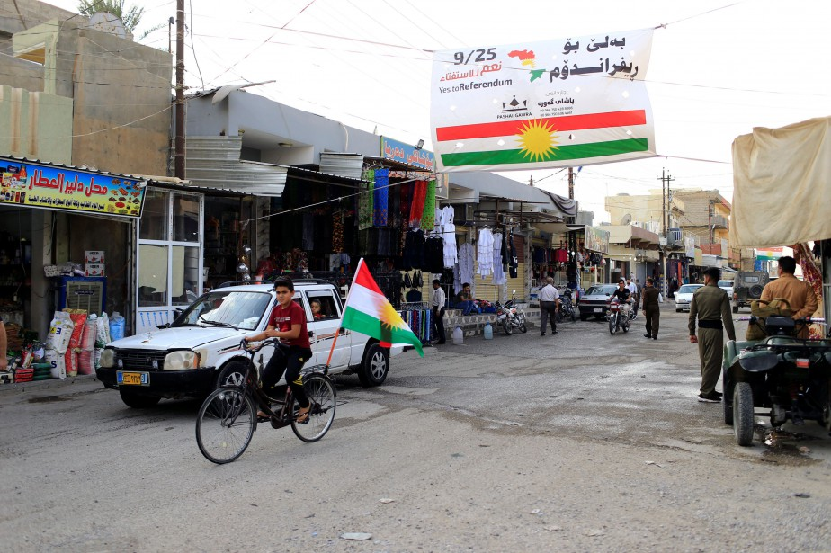 Le scrutin au Kurdistan irakien a été vivement... (Photo Thaier Al-Sudani, REUTERS)