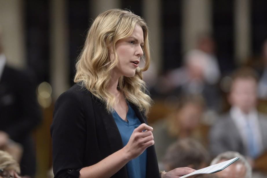 En entrevue avec un quotidien albertain, la députée... (La Presse Canadienne)