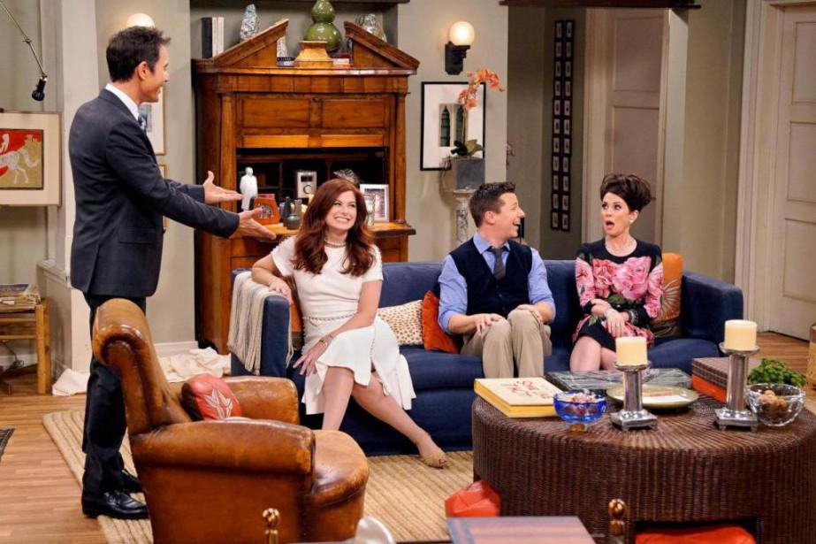 Les quatre acteurs principaux de Will and Grace... (photo fournie par nbc)