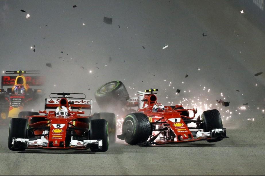 Sebastian Vettel a peut-être torpillé ses chances de gagner le... | 2017-09-28 00:00:00.000