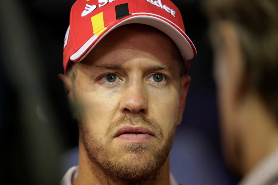 Le visage de Sebastian Vettel en disait long après la course. | 28 septembre 2017