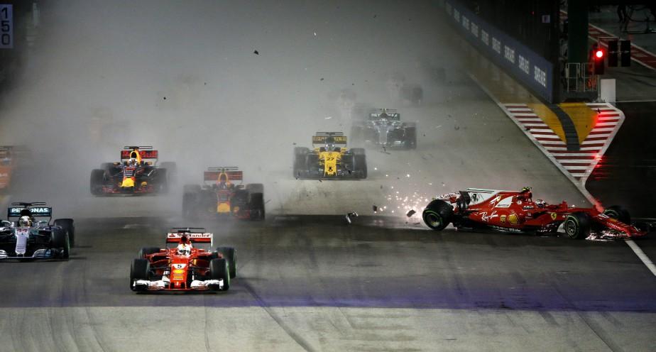 Rien n'est joué, car Vettel peut théoriquement inscrire 150 points d'ici la fin de la saison. Mais les statistiques ne lui donnent plus que 23% de chances de remporter le Championnat. | 28 septembre 2017
