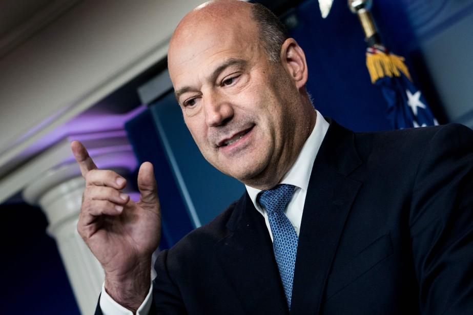 Gary Cohn, économiste en chef de la Maison-Blanche,... (PHOTO AFP)