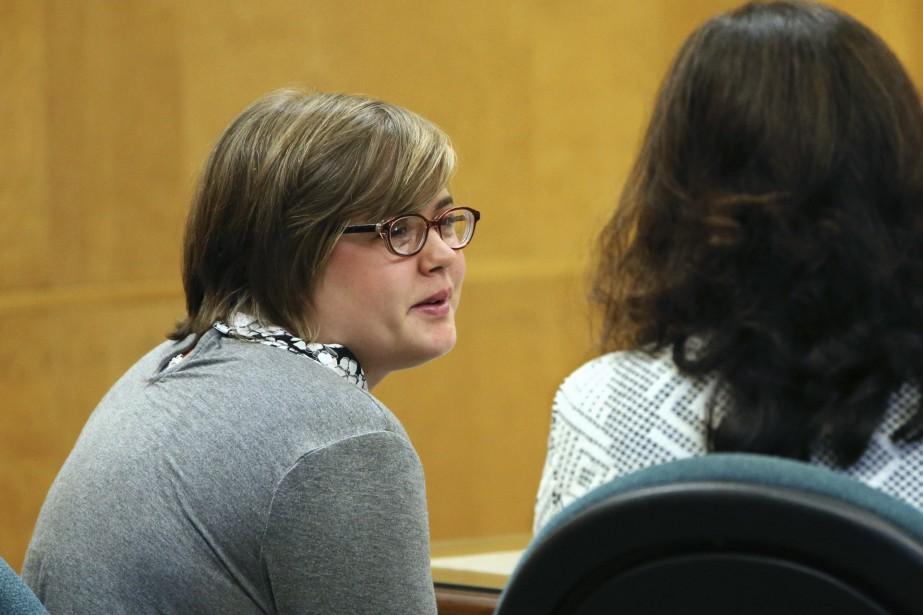 Morgan Geyser sera internée en hôpital psychiatrique pour... (Photo Michael Sear, Associated Press)