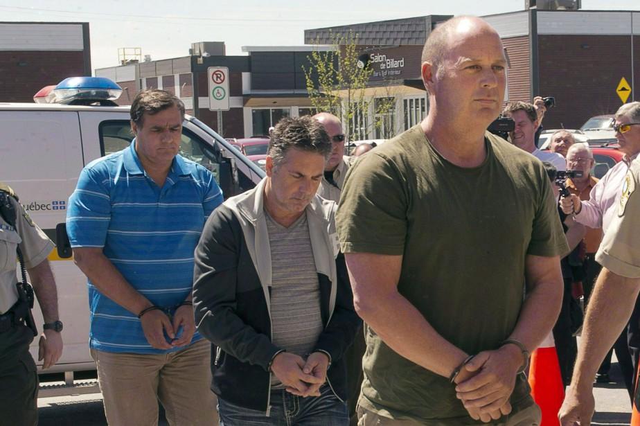 Trois anciens employés de la Montreal Maine and... (Archives, La Presse Canadienne)