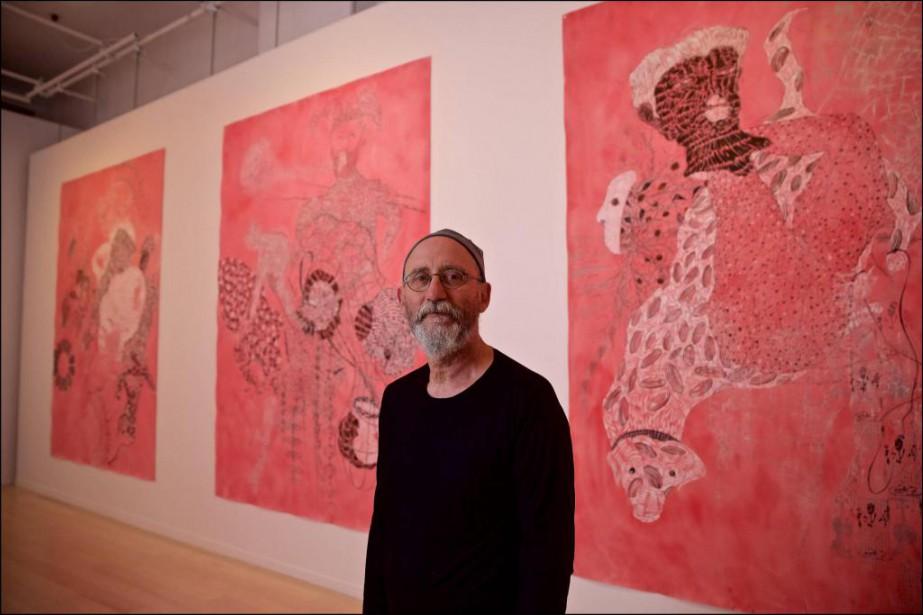 L'artiste et professeur montréalais François Morelli fait l'objet... (Photo André Pichette, La Presse)