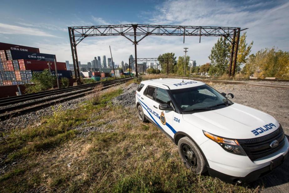 La police privée du Canadien National vient d'obtenir... (Photo Olivier Pontbriand, La Presse)