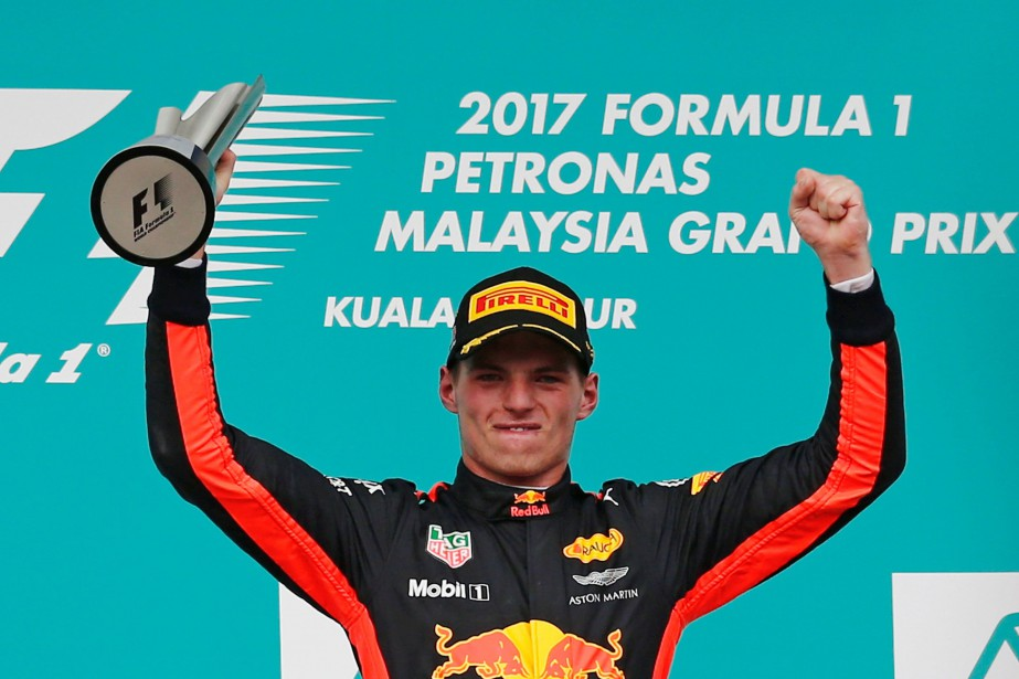 Max Verstappen... (Photo Lai Seng Sin, Reuters)