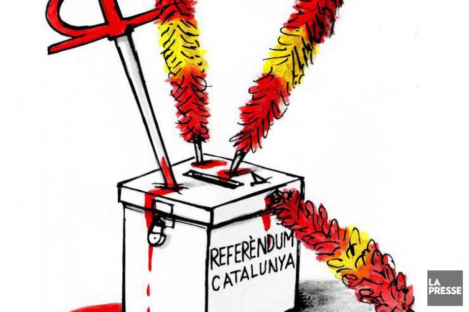 Le gouvernement espagnol de Mariano Rajoy a donné une leçon... (GODIN, LA PRESSE)