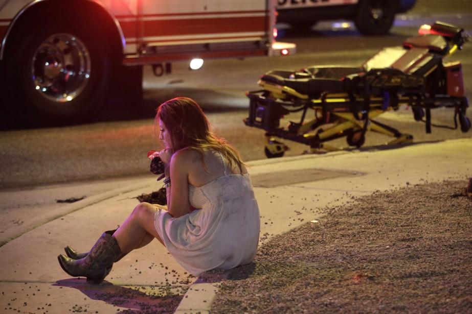 Êtes-vous à Las Vegas? Avez-vous assisté à la fusillade?... (PHOTO AP)