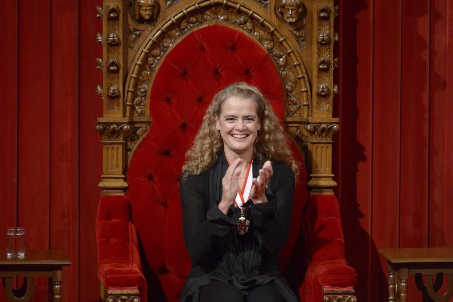 Âgée de 53 ans, Julie Payette devient la... (Photo Adrian Wyld, La Presse Canadienne)