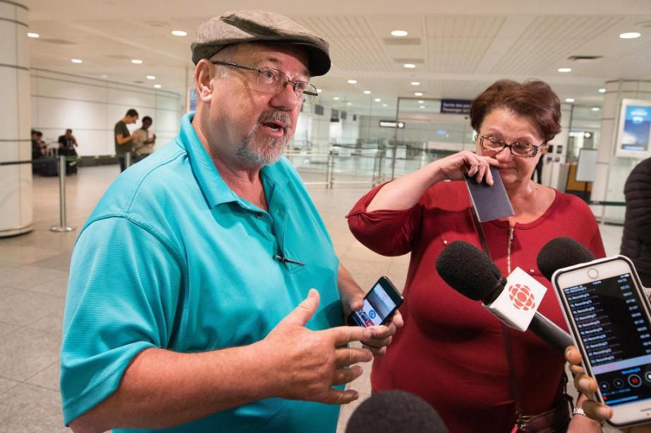 Dave Tidbury et Doreen Tidbury... (Photo Robert Skinner, La Presse)