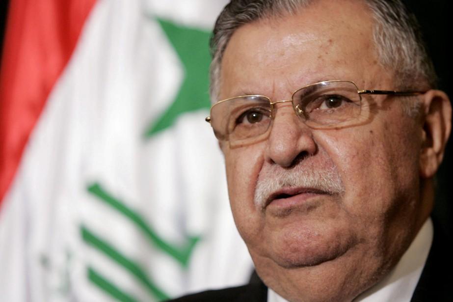 Jalal Talabani,vétéran de la lutte kurde, est mort... (REUTERS)