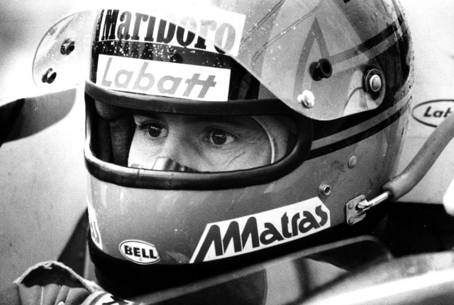 Gilles Villeneuve avant la course. | 3 octobre 2017