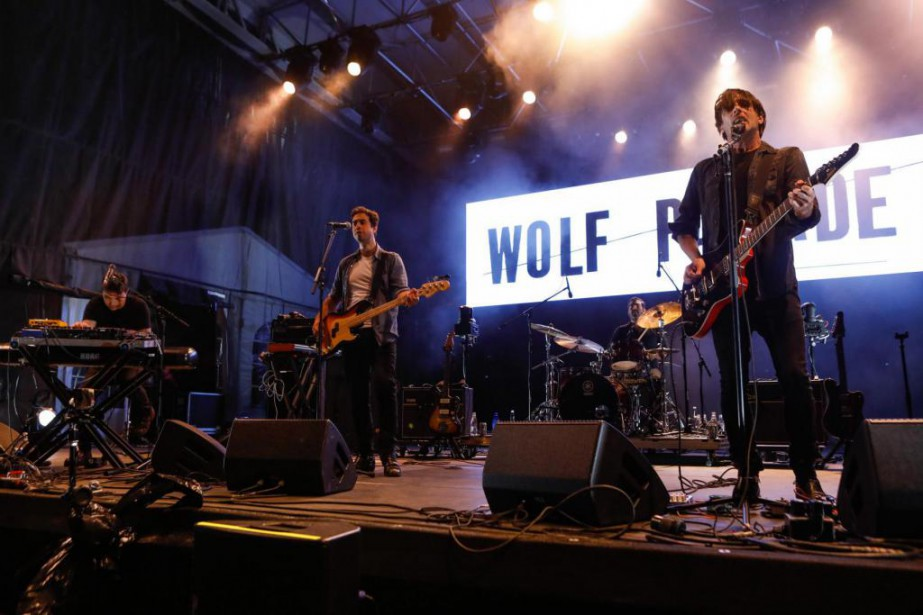 Le groupe Wolf Parade offre avec Cry Cry... (Photo Caroline Grégoire, Le Soleil)