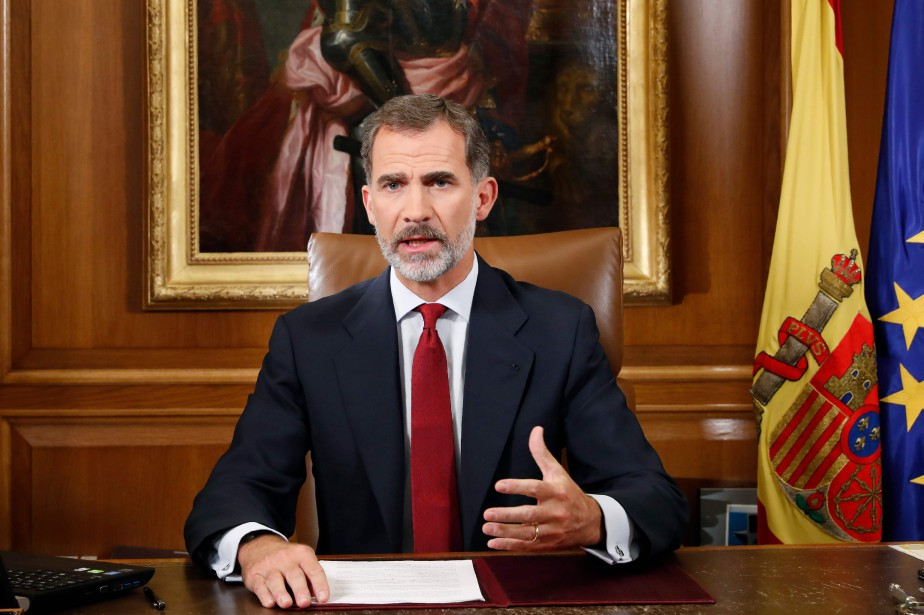 Felipe VI... (Photo Francisco Gomez, Casa Real via AFP)