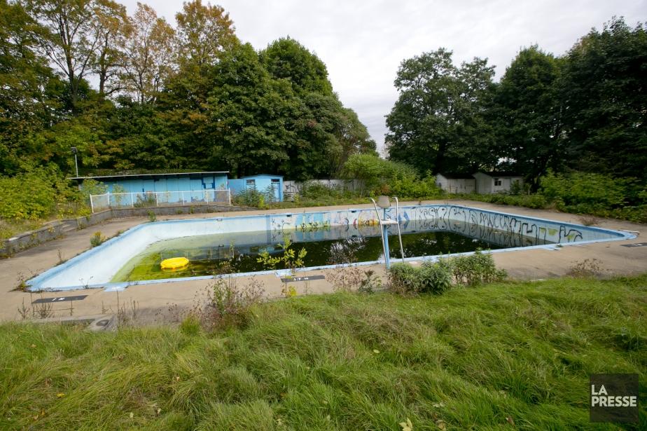 Rare piscine publique dotée de vestiaires et de... (Photo David Boily, La Presse)