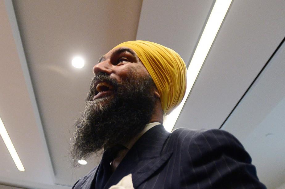 Le nouveau chef du NPD, Jagmeet Singh,a affirmé... (PHOTO Sean Kilpatrick, LA PRESSE CANADIENNE)