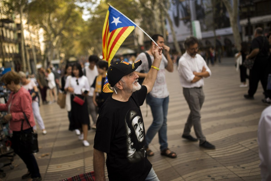 La Catalogne est l'une des régions espagnoles les... (PHOTO AP)