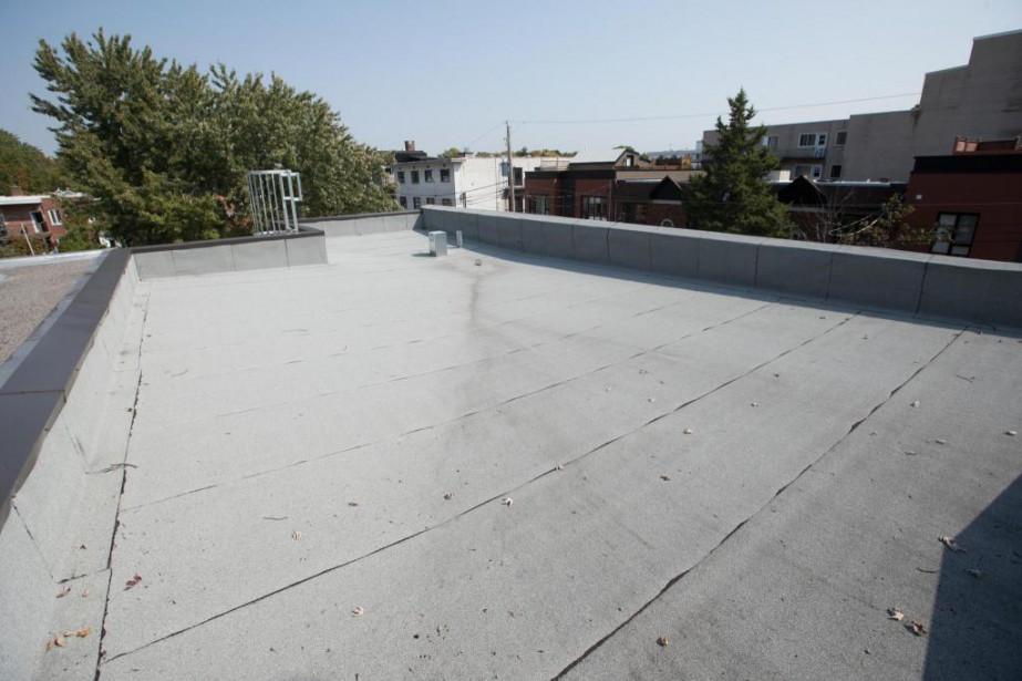Le nettoyage d'un toit plat s'impose, qu'il s'agisse... (Photo Ivanoh Demers, La Presse)