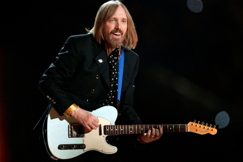 Tom Petty lors du Super Bowl en 2008.... (Photo ARCHIVES REUTERS)