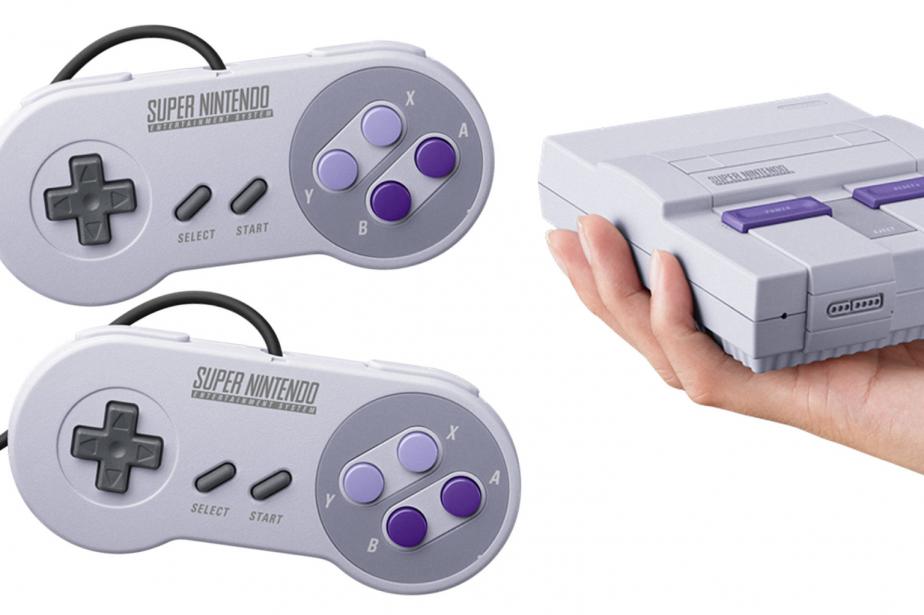 La console Super Nintendo Classic Mini...